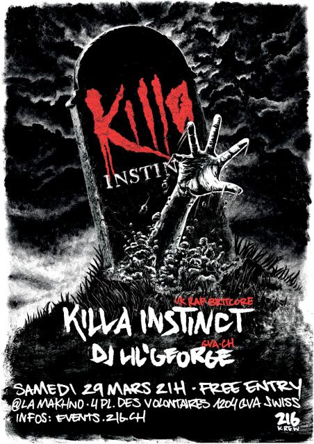 Killa Instinct - 29 Mars 2014