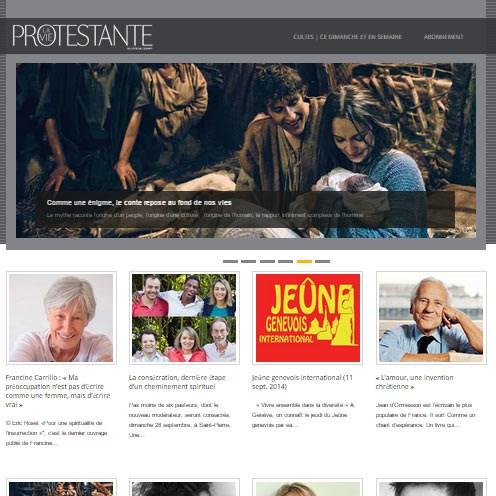 La Vie protestante (Mensuel genevois)