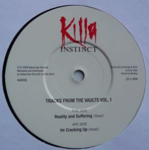 KillaInstinct - Tracks From The Vaults Vol.1 - Single