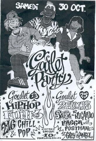 Affiche goulet part 216 krew chill pop -