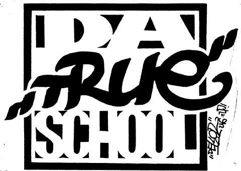 Logo - da true school
