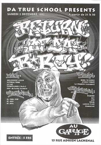 affiche - return of da bboy 216 krew graffiti