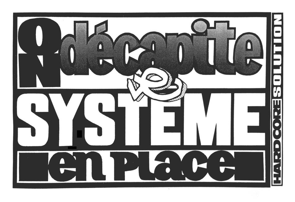 logo - 216 on dekapite le systeme en place