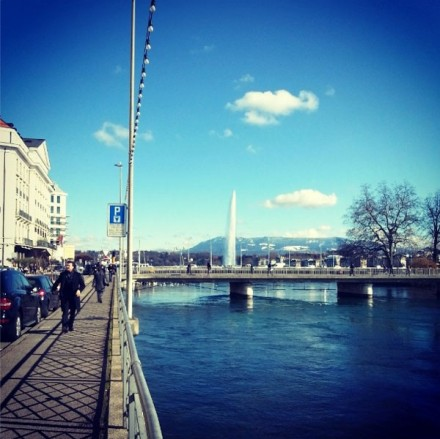 Geneva this morning