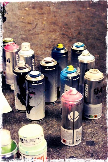 Spraycans