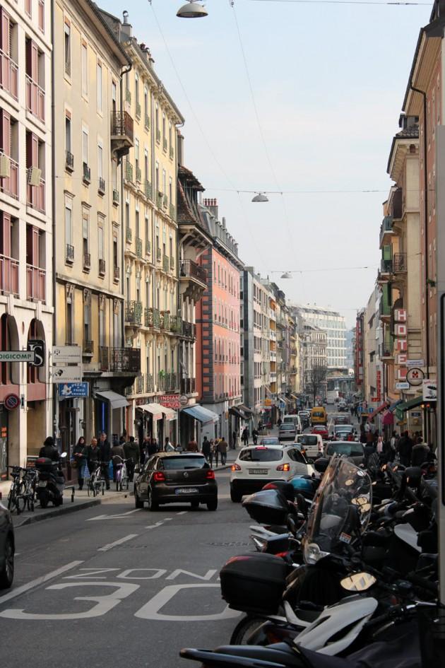 Folk district of Geneva